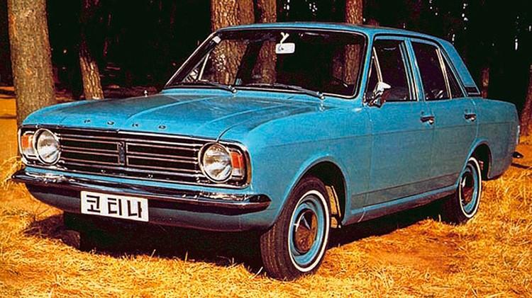 Hyundai Ford Cortina Mk2
