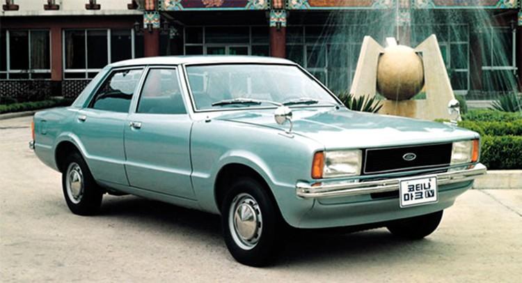 Hyundai Ford Cortina Mk4